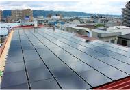 2012年 本社屋上に太陽光発電設置