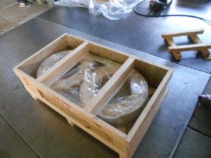 輸出用木箱(コイル 内装)