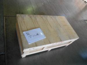 輸出用木箱(コイル 外装)